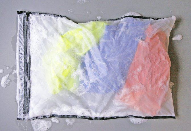 第一款「環保」洗衣袋 專防塑膠纖維污染海洋